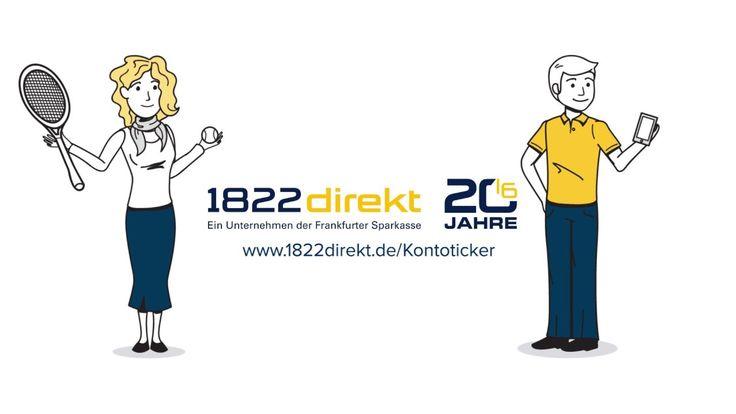Sie möchten über Ihre Finanzen stets den Überblick haben? Kein Problem mit der Finanz-App von 1822direkt. #erklärvideo #explainervideo