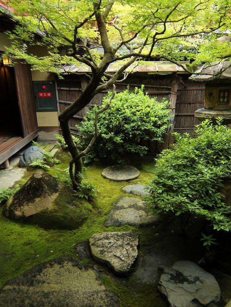 Japanese garden in SUMIYA Shimabara, Kyoto, Japan 2014