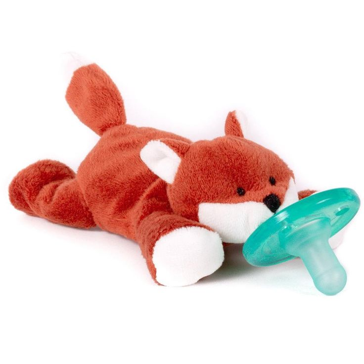 Heads and shoulders above the rest, the WubbaNub pacifier is sure to be a favorite of baby AND Mom and Dad. Soft and cuddly it is just the right size for little hands to grasp and keep the pacifier close. Suitable for ages 0-6 months. Features:  Distributed in hospitals, NICU and well-baby units nationwide Made wth a Soothie medical grade, latex free pacifier BPA, PVC and Phthalate Free Durable one-piece construction means no germs hiding between cracks so the pacifier stays cleaner…