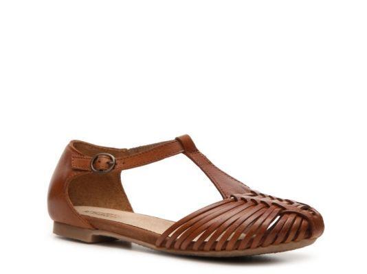 Women's Seychelles Jester Flat Sandal - Cognac