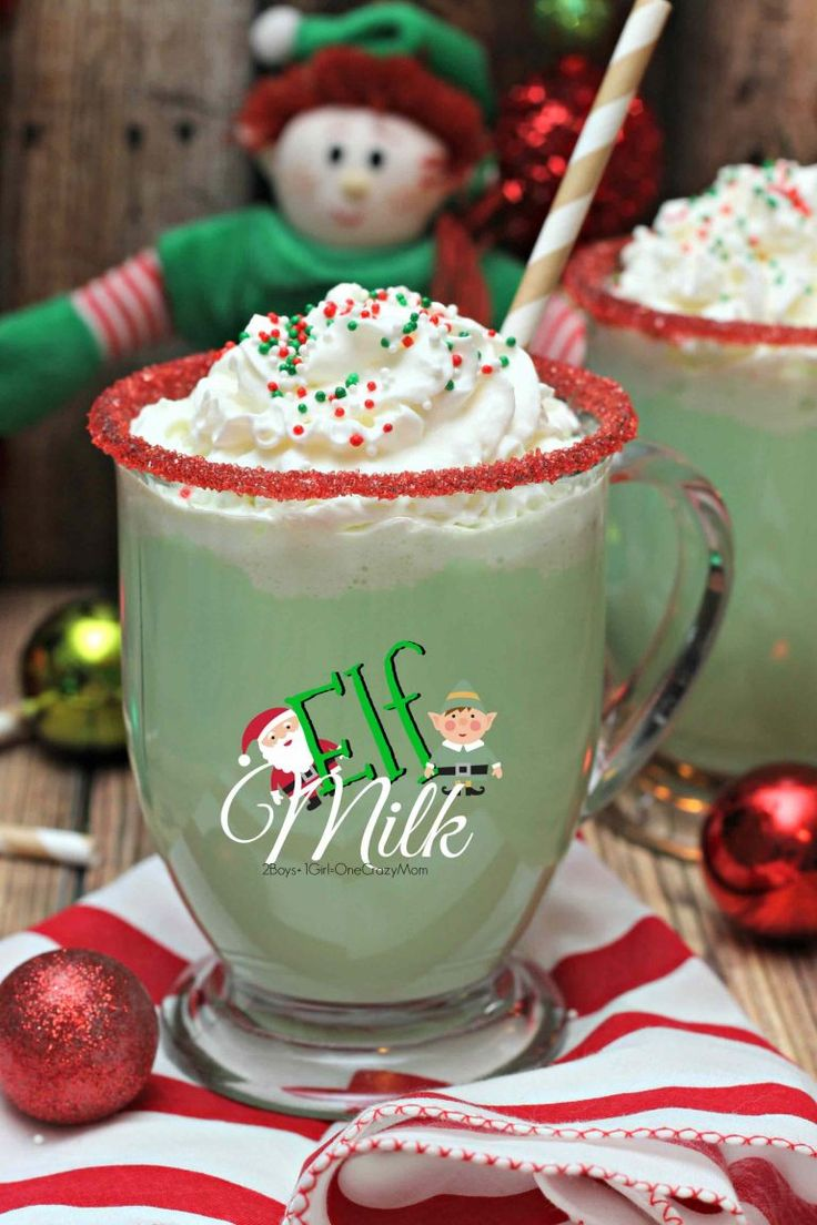Elf Milk perfect for a movie night or when your Elf on the Shelf returns #StreamTeam #ad
