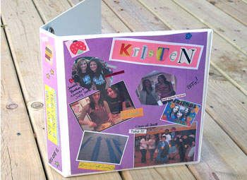 Photo Binder: Decorate Binder - Personalized Crafts