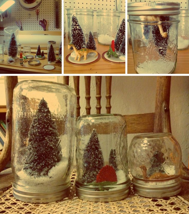 In the (Saint) Nick of Time: DIY Dinosaur Snow Globes