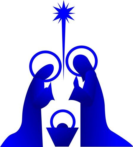 Free Outdoor Nativity Scene Pattern | Downloadable Embroidery Patterns ...