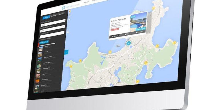 Mapa interativo de Armação dos Búzios, RJ, será lançado na internet