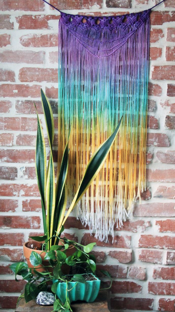Macrame Wall Hanging The 25 Best Macrame Wall Hangings Ideas On Pinterest Macramac