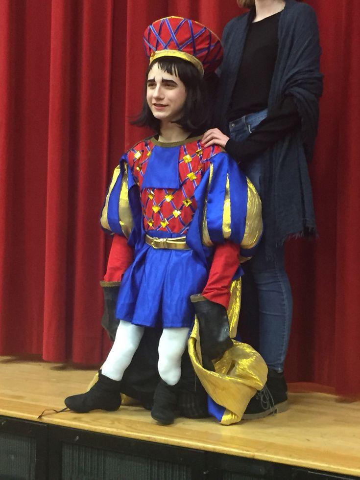Lord Farquaad costume for Shrek the Musical
