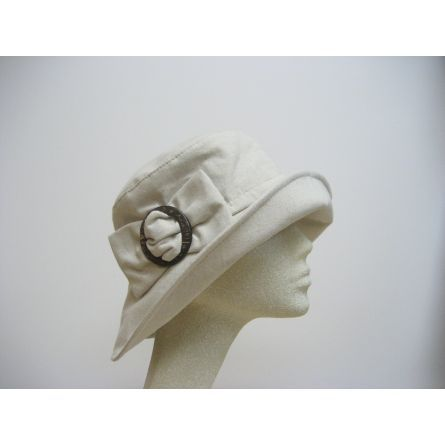 Gifts :: For Her :: Natural Linen/ Cotton Beach & Garden Floppy Hat by Sanibel Hats $60