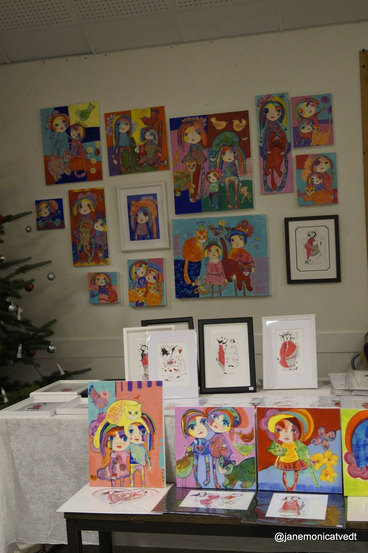Julemarked - Kunstutstilling i dag på GAusel bydelshus  kl 10-16 - Velkommen