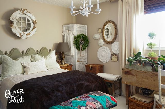 Oliver and Rust || Finding my Patina Style: spare room in light vintage tones for winter 2014