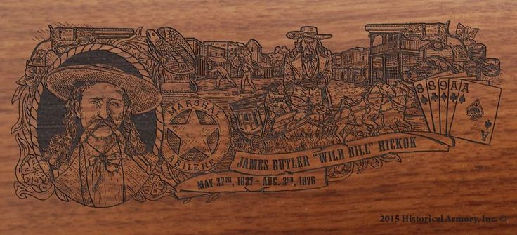 Wild Bill Hickok Limited Edition Engraved Rifle – Historical Armory Inc.