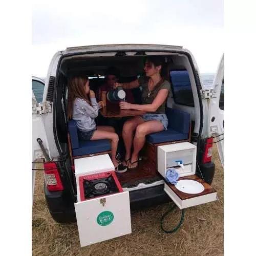Kit Camping Motorhome Rodante Para Partner Kangoo Berlingo - $ 19.900,00