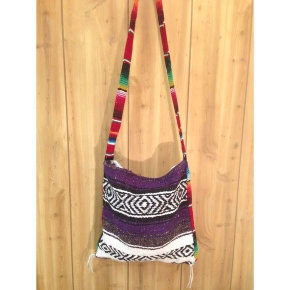 Handmade Cross-body Bag Handmade in Mexico cross-body bag! Bags Crossbody Bags