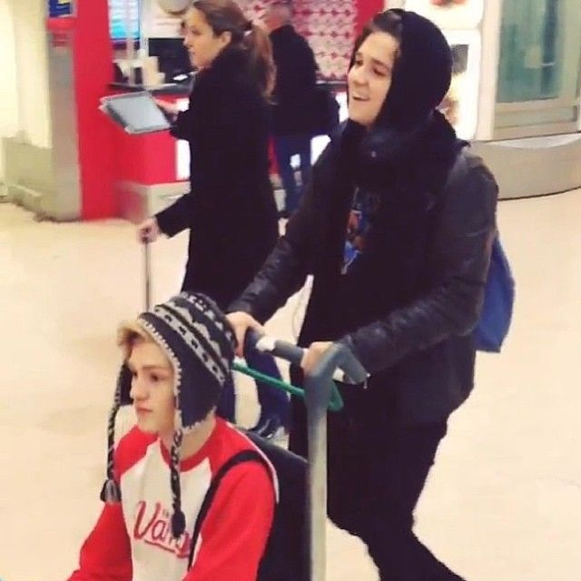 the vamps Bradley + Tristan = Tradely