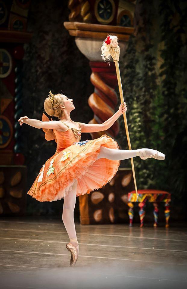 Elena Iseki, Schülerin der Staatliche Ballettschule Berlin © Carlos Quezada