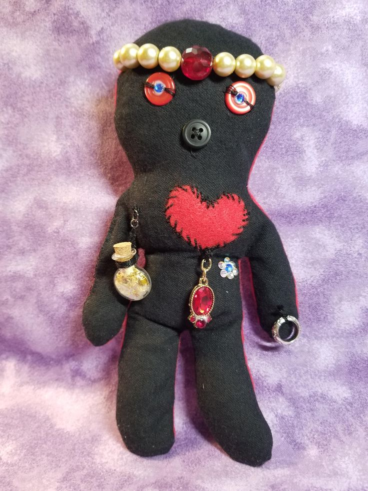 Voodoo Doll, Bring Me A Spouse Voodoo Doll Spell, Witchcraft, Dark Magick, Gifts For Her, Gifts For Him, Voodoo