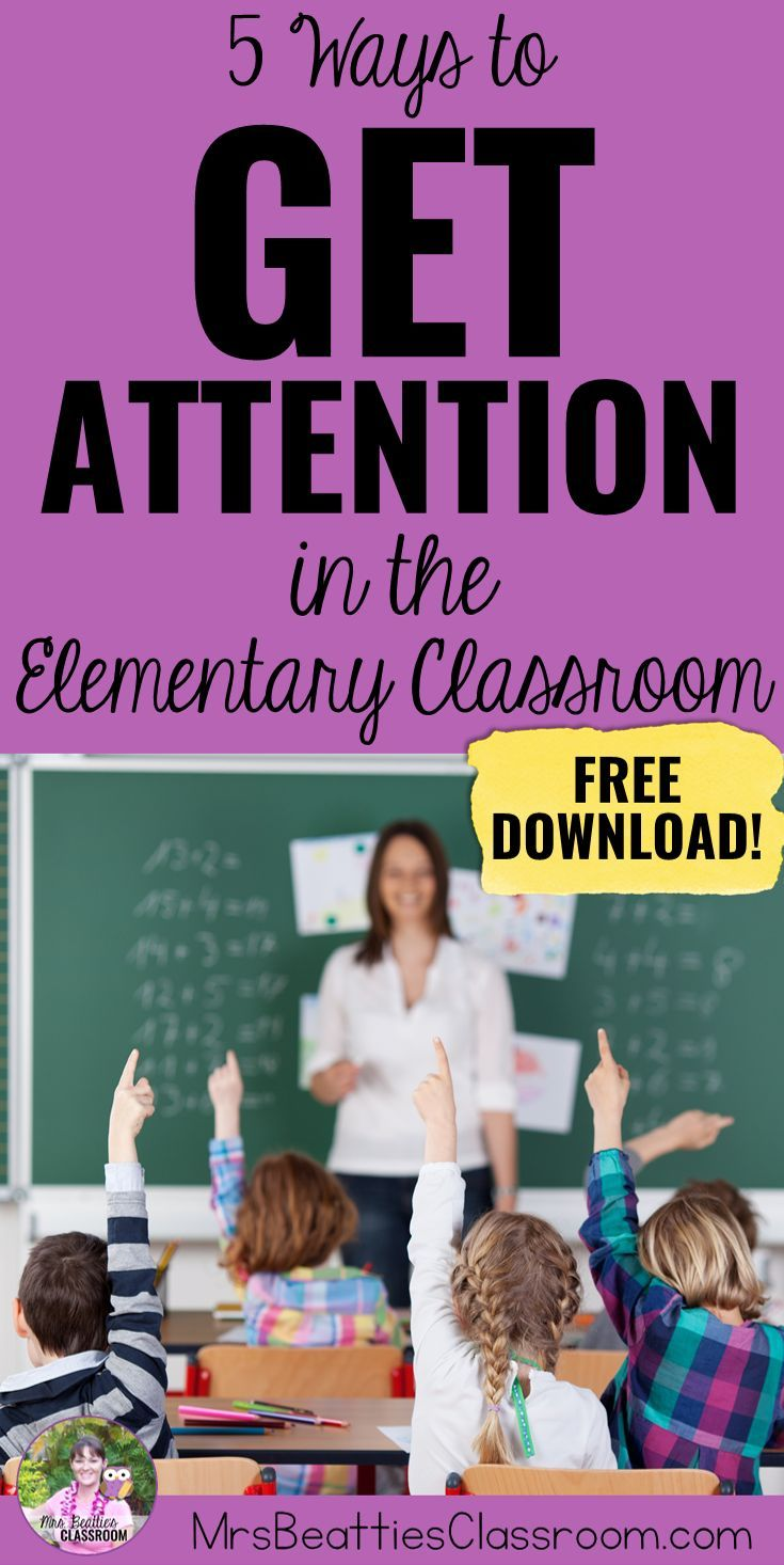 5 Ways to Get Student Attention in