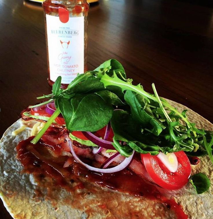#beerenbergwith your breaky wrap. Yes please! Keep your Beerenberg creations coming. @Emma this one's looks delish!