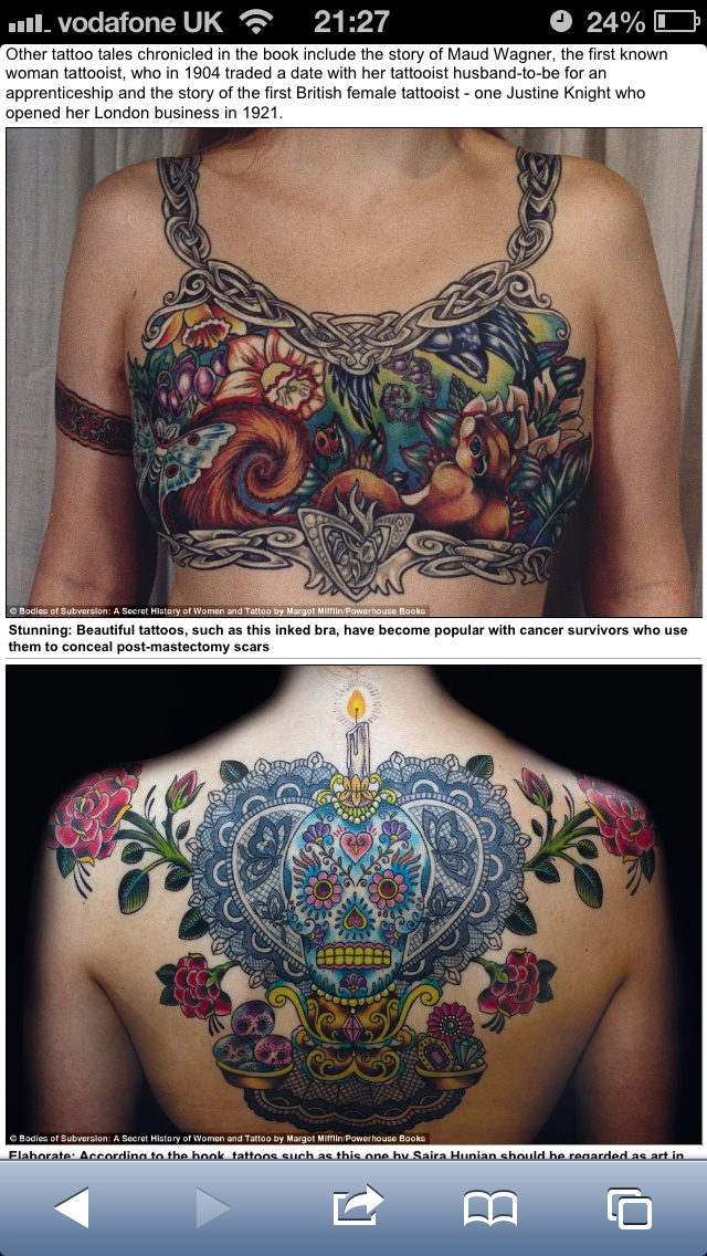 Cool Celtic bra tattoo - post mastectomy | mastectomy scar ...