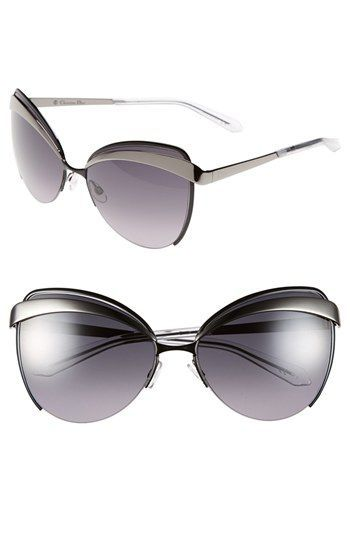 763152c3f08 Free shipping and returns on Dior  Eyes 1  60mm Metal Butterfly Sunglasses  at Nordstrom