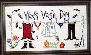 Witchy Washy Cross Stitch Pattern Miscellaneous