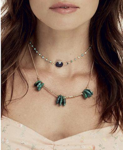 My Heart Choker-Turquoise