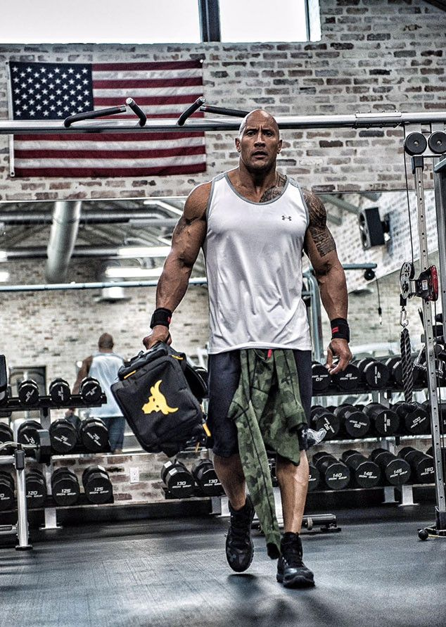 The Rock Playfully Tweets About Man Who Set Out to Follow His Diet and Workout Plan for 31 Days Dwayne The Rock Johnson, Under Armour