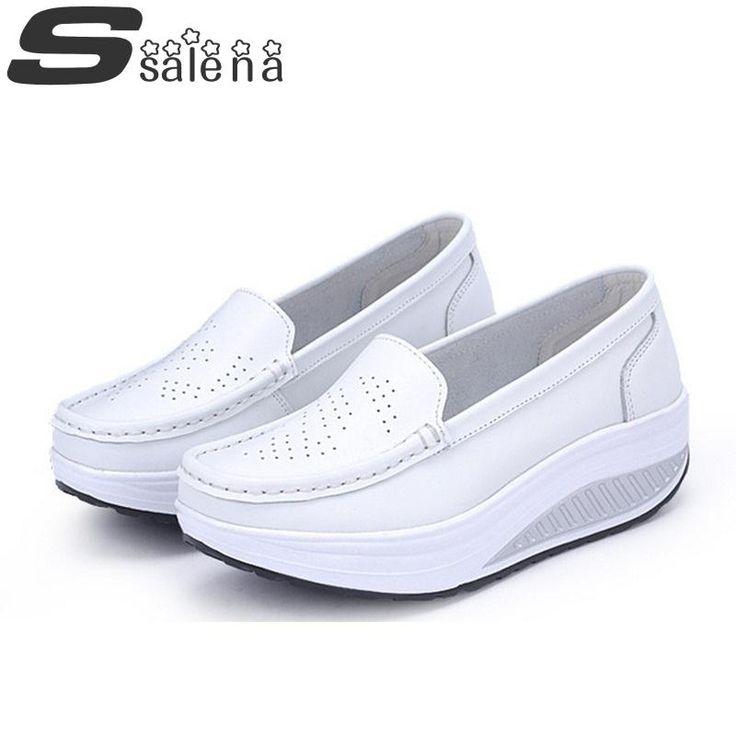 Donne scarpe di cuoio donne appartamenti femminile all'ingrosso ragazza  comfort low talloni piani fannulloni