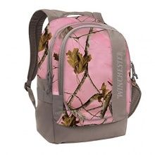 Winchester Women's Pink Camo Realtree Backpack