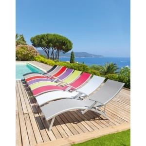 Bain de soleil pliant - Transat Hesperide Ibiza