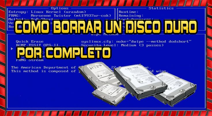 Como Borrar Un Disco Duro Por Completo ...................................................... link....http://martintomaswww.blogspot.com.es/2014/02/como-borr...