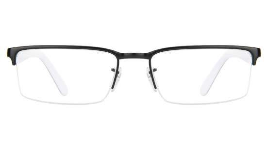 Ray-Ban RX6271 2802 Size-53 Matte Black white Eyeglasses