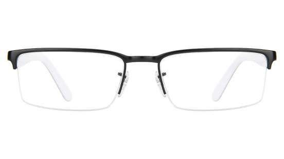 Ray-Ban RX6271 2802 Size-53 Matte Black white Eyeglasses