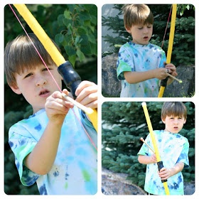 Kid friendly how to build pvc bow and arrow about 8 for Kids pvc bow