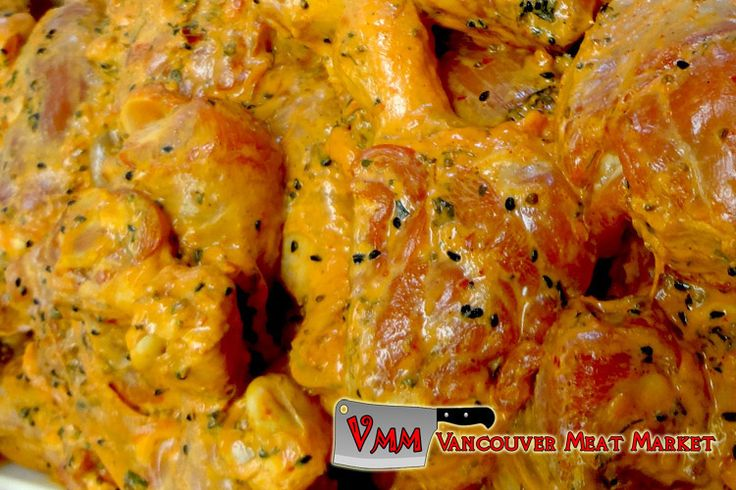 Marinated Lemon Chicken Leg N Thigh at Vancouver Meat Market