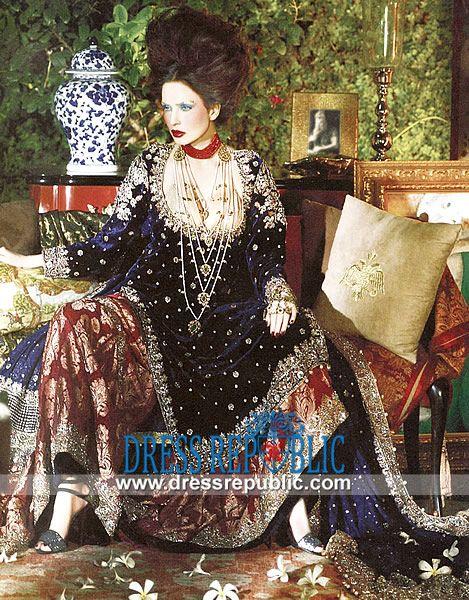 Pakistani Bridal Dresses 2014 | Where to Buy Salwar Kameez Online  Buy Salwar Kameez Online from Top Pakistani / Indian Bridal Fashion Designers on Dressrepublic. Original Quality and Worldwide Delivery. by www.dressrepublic.com