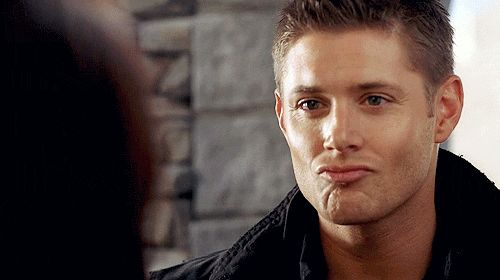 [gif] THE Dean! Love the eyebrow thing at the end