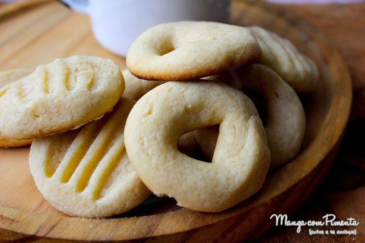 Biscoitos de Leite em Pó, para ver a receita clique na imagem para ir ao Manga com Pimenta.