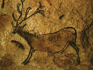 Image result for cave drawing of a deer