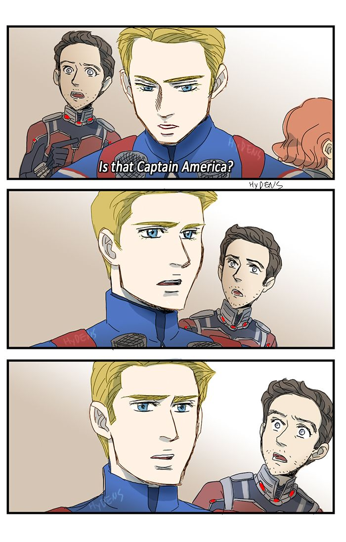 """""""Is that Captain America?"""""""