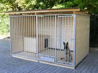 Hundezwinger 3 seitig geschlossen, Sonderserie