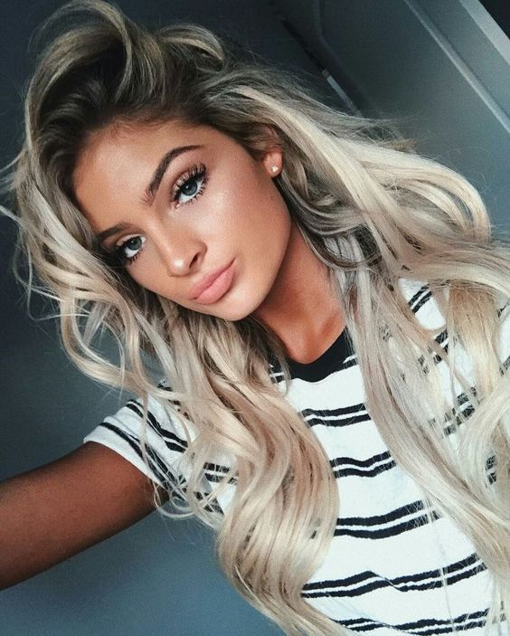 Best 25 Pretty Blonde Girls Ideas On Pinterest Colored