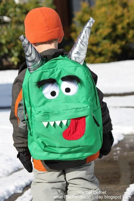 Convierte una mochila normal en una Monster Mochila
