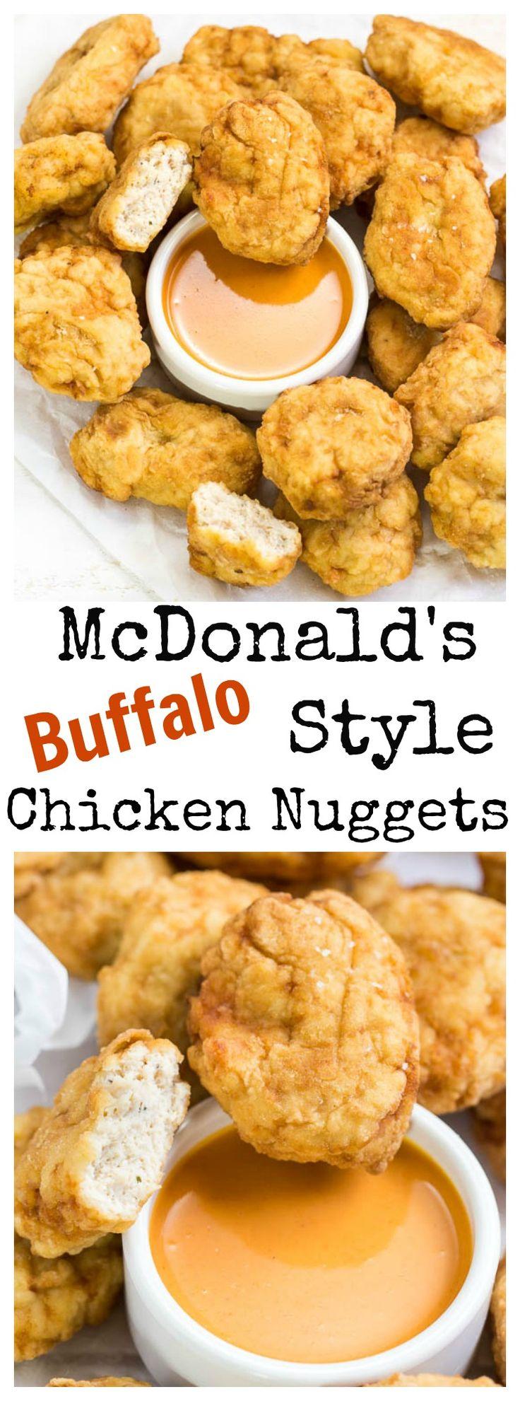 McDonald's Buffalo Style Chicken Nuggets