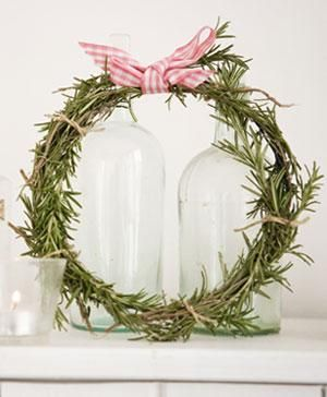 rosemary wreath {easy how-to}