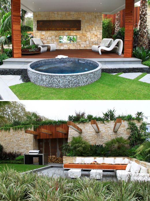 66 best images about australian gardens on pinterest for Courtyard landscaping australia