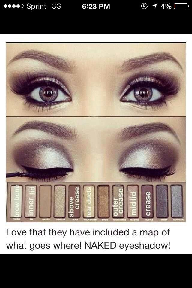 Beautiful How To Apply Eyeshadow