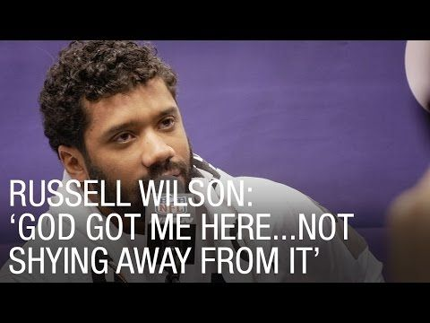 Russell Wilson Was Told Not To Speak About God And His Faith, So He Does THIS Instead.  I ❤️ My QB