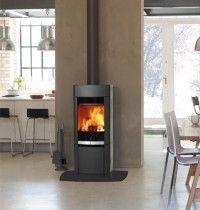Scan 64 modern freestanding woodburning stove