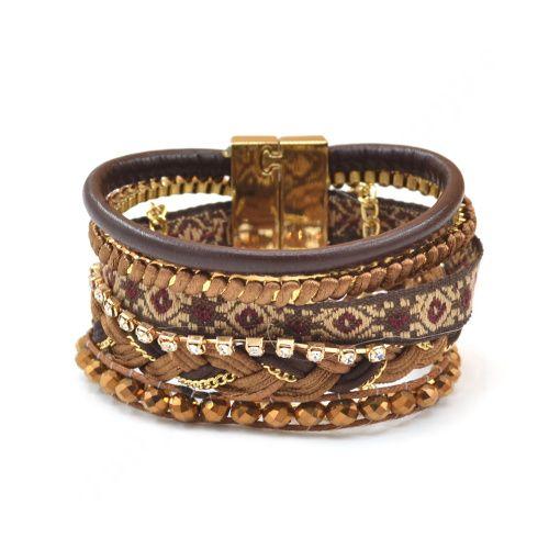 New Fashion Style bohême femmes hommes tressé Hipanema Bracelet Wrap Cuff avec fermoir magnétique dans Bracelet amulette de Bijoux sur AliExpress.com | Alibaba Group